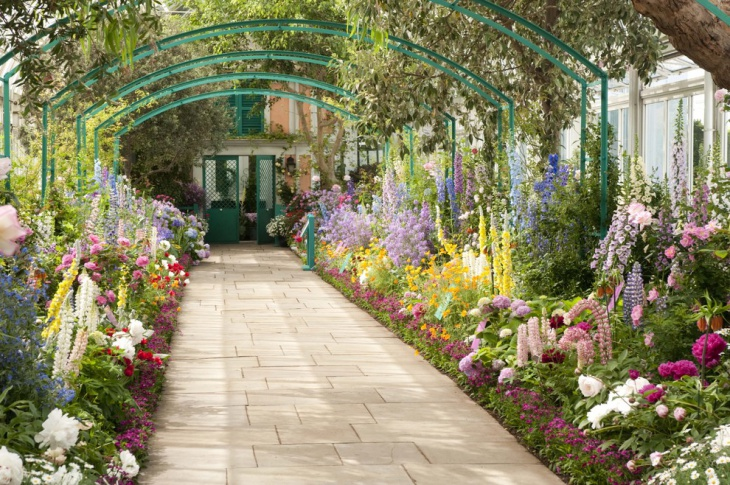 20 peony garden designs ideas design trends premium for Botanical garden design