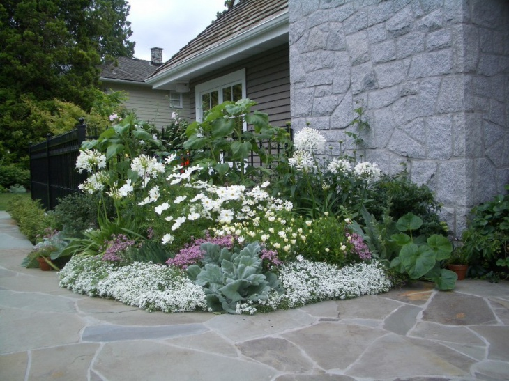 white garden ideas