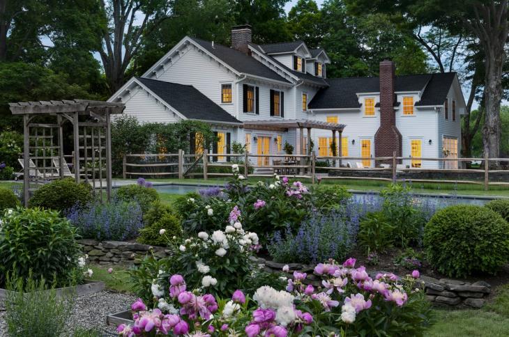 Country Peony Garden Design