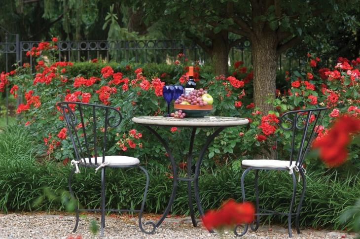 Red Peony Garden Design