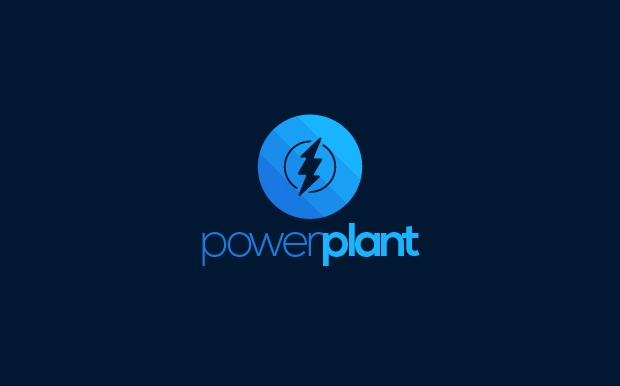 high resolution power plant logo