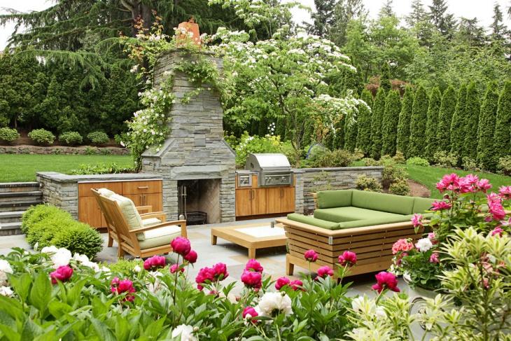 farmhouse Peony Garden