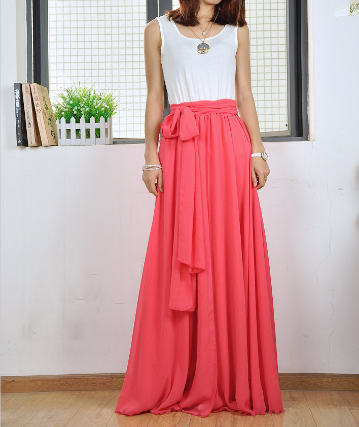 floor length long skirt