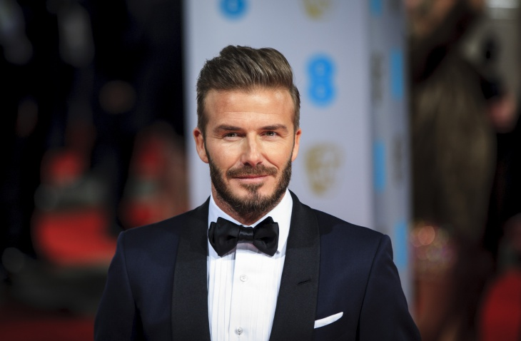 david beckham messy comb greaser hairstyle
