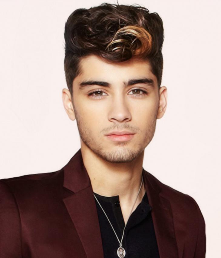 Zayn Malik Curly Greaser Hairstyle