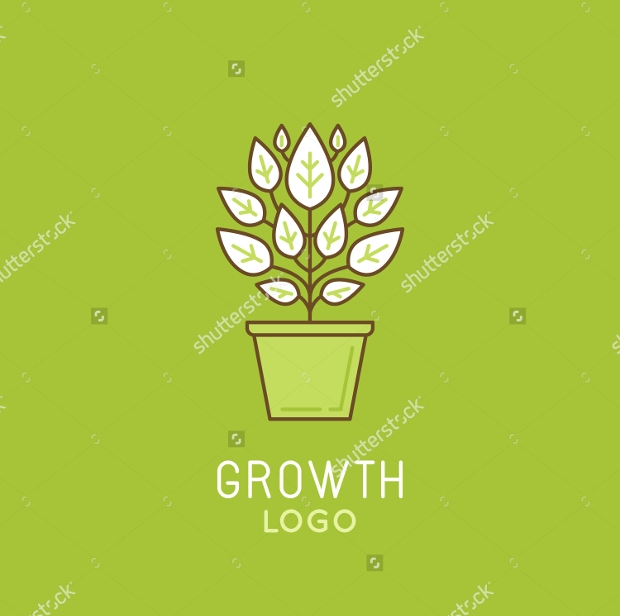 plant growth logo