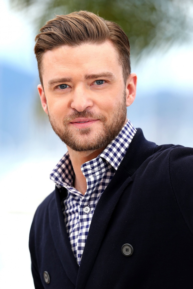 Justin Timberlake Pompadour Greaser Hairstyle
