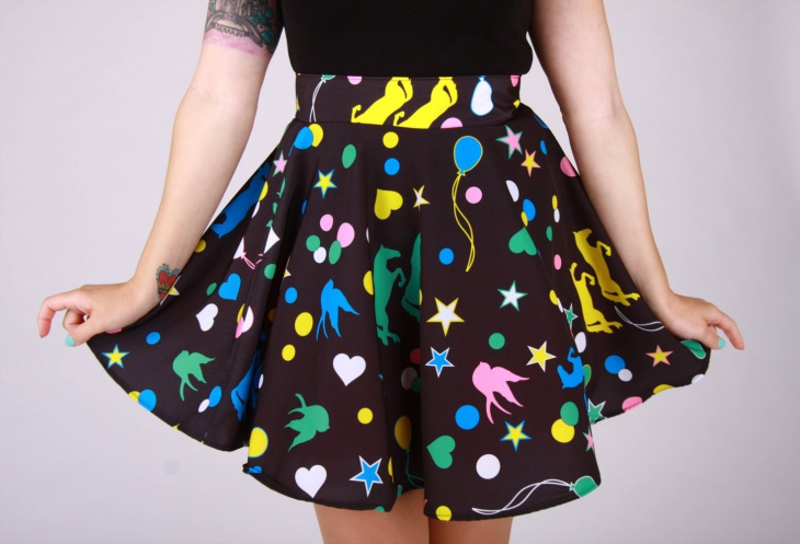 luna lovegood circle skirt