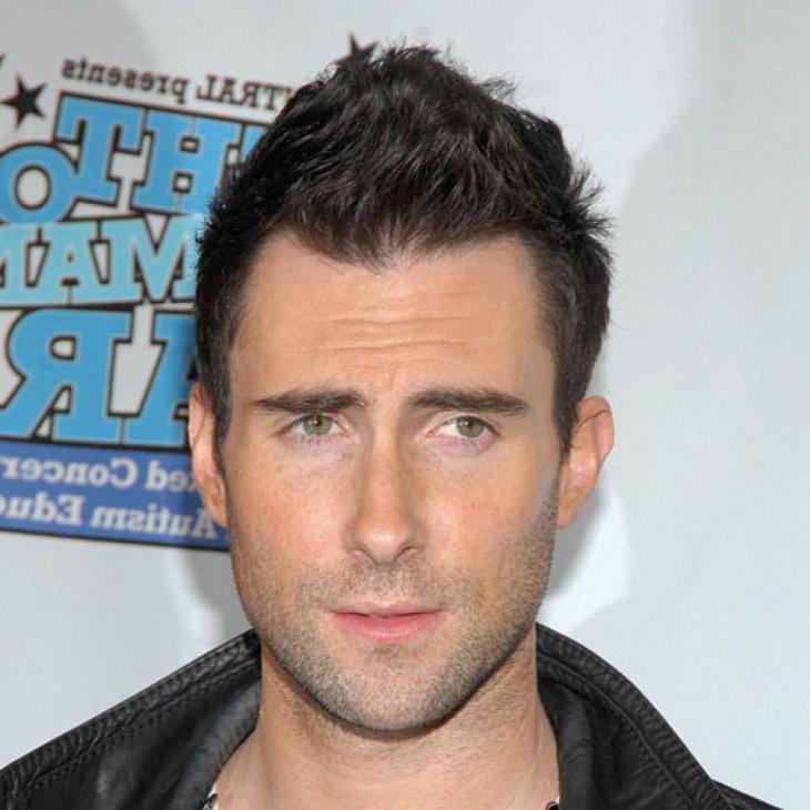 Adam Levine Fohawk Greaser Haircut