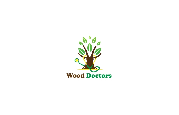 plant logo design for doctors