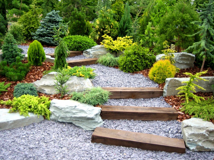 Shrub and Rock Garden Design