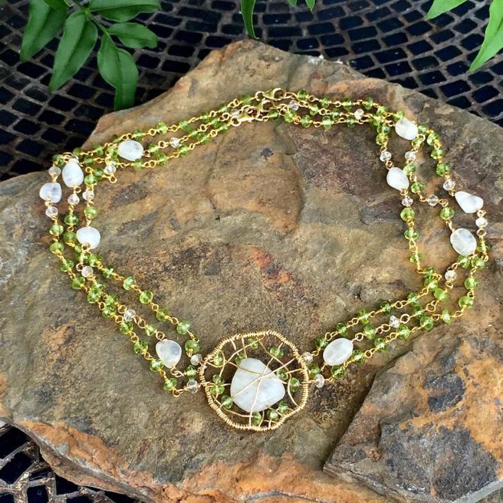 Aquamarine Peridot Jewelry
