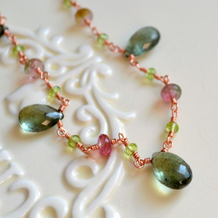 Peridot Gemstone Jewelry Design