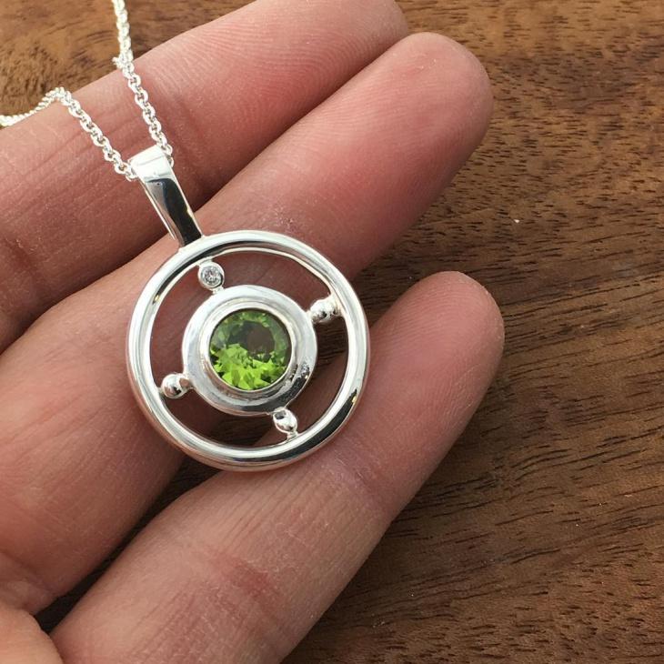 Peridot Jewelry Necklace