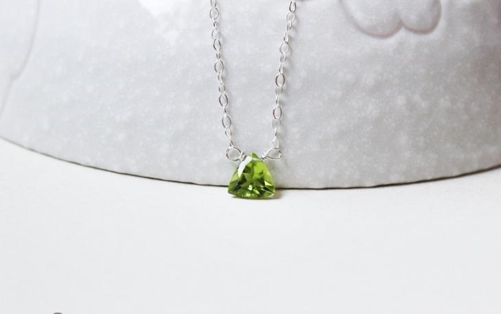 Awesome Peridot Gemstone Necklace