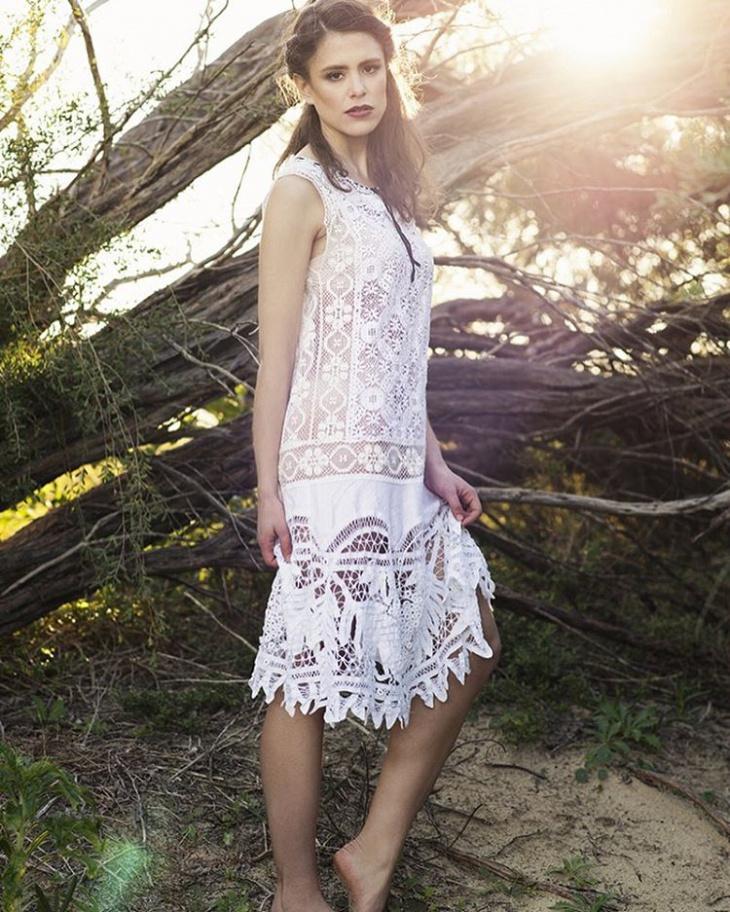 flamboyant flapper dress