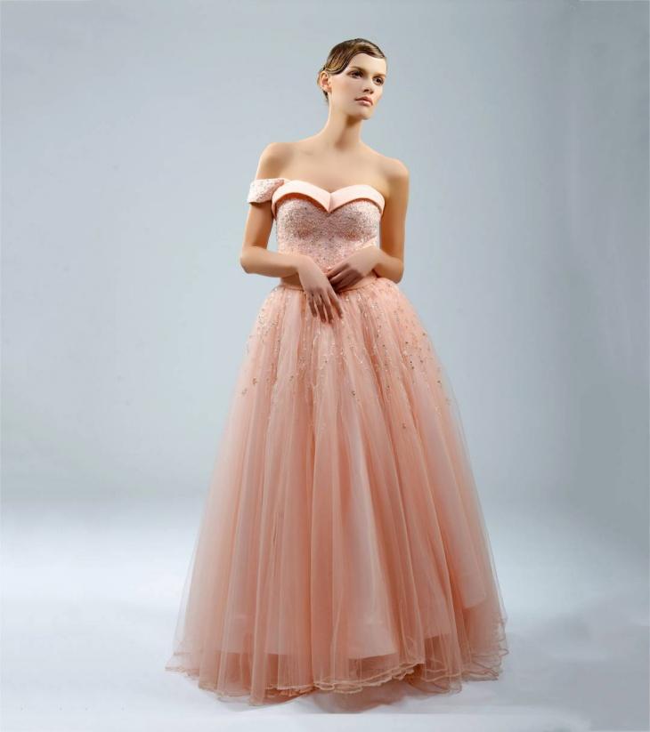 Gorgeous Flamboyant Dress Design