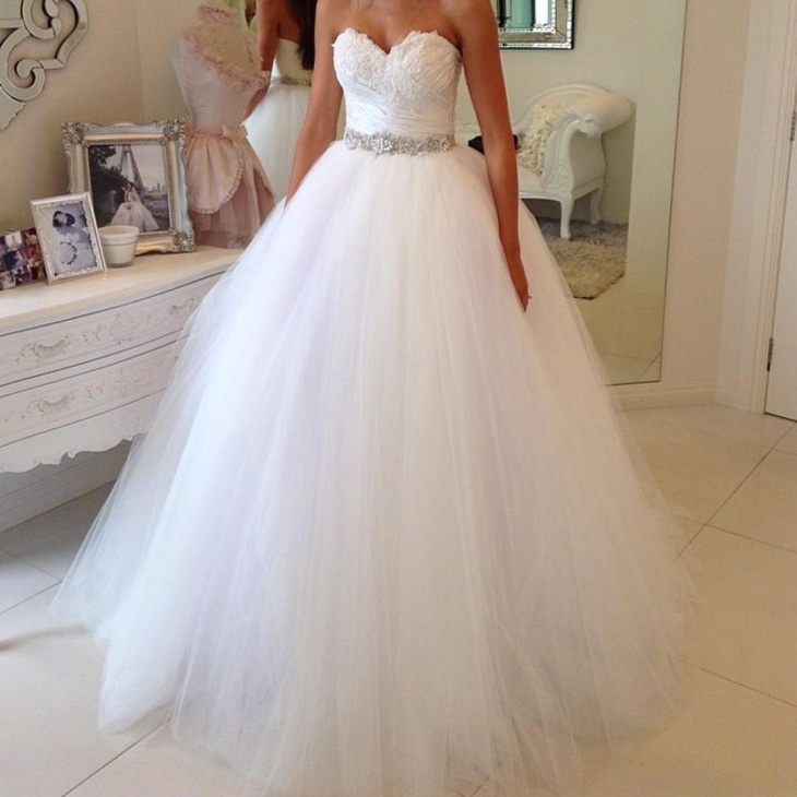 Classy Flamboyant Ball Gown
