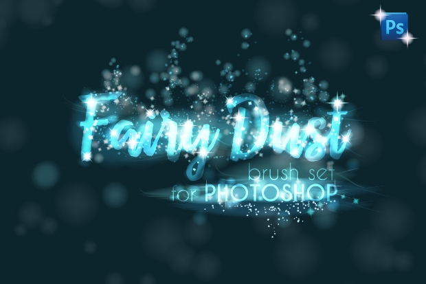 Fairy Dust Photoshop Sparkle Brush Set