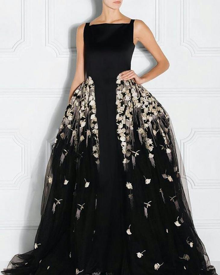 Elegant Gown Design Idea