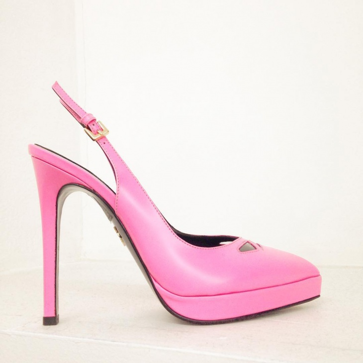 Bubblegum Pink High Heels