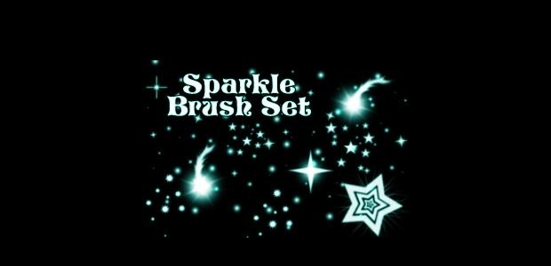 sparkle brush set