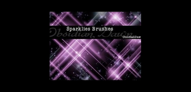 Sparkle Photoshop Brushes