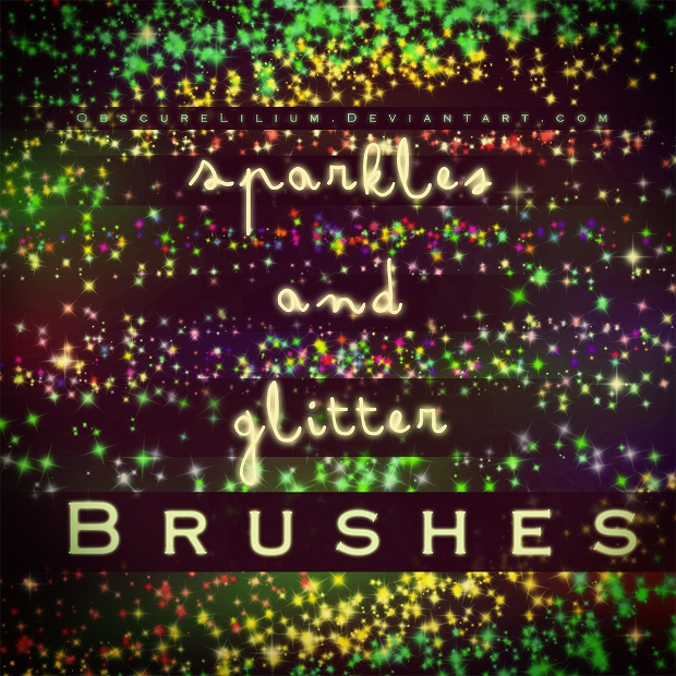 Sparkle and Glitter Brushes