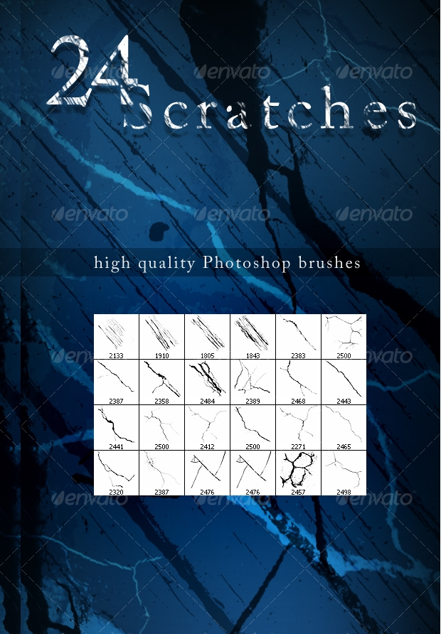 High Quality Scratch Brushes Set