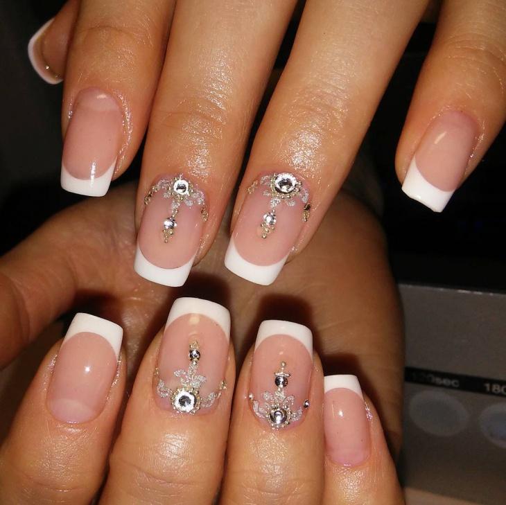 Aquarium Tip Nail Design