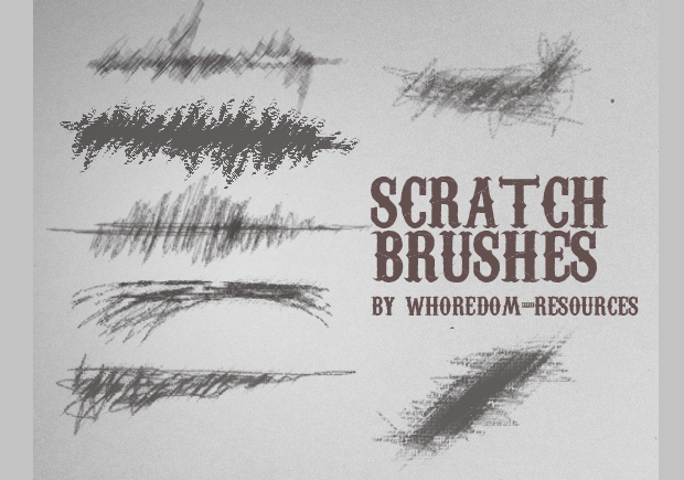 High Resolution Scratch Brushes