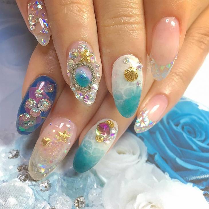 Aquarium Nail Art Pictures to Pin on Pinterest - PinsDaddy