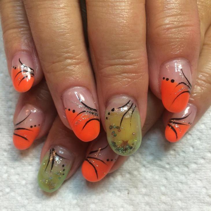 best aquarium nail art