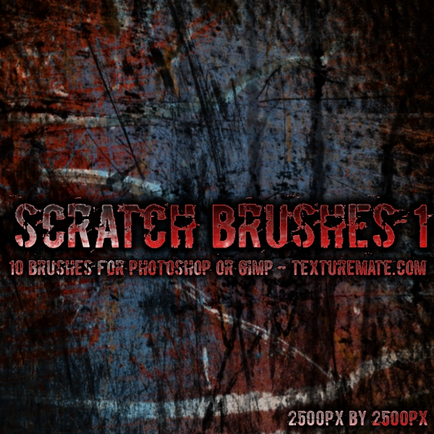 Scratch Brush Pack for Photoshop