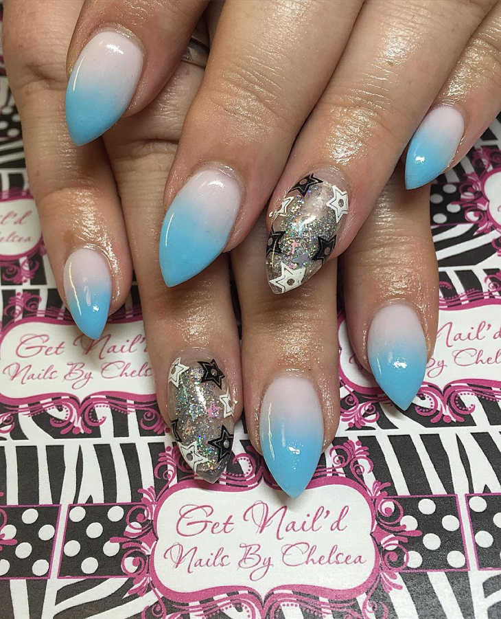 cool nail art for almond nails