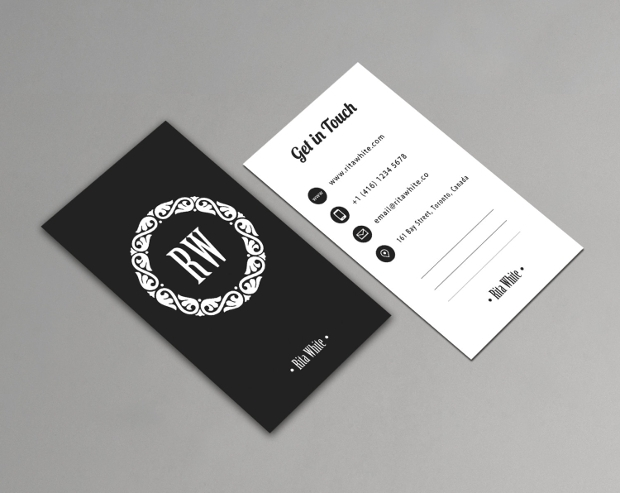 68 business card free printable psd eps word format download black white vertical business card reheart Choice Image