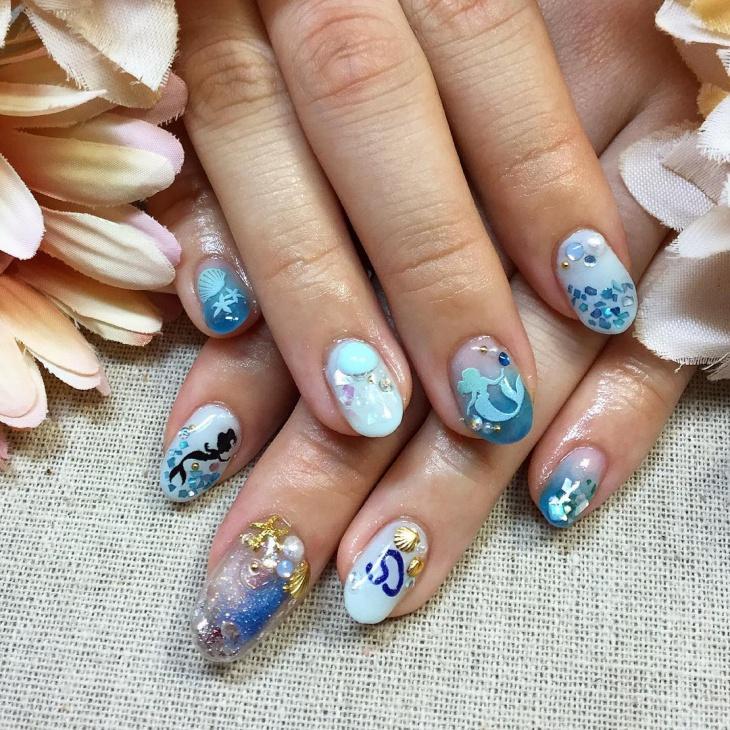 Nail Art Designs Disney Splendid Wedding Company