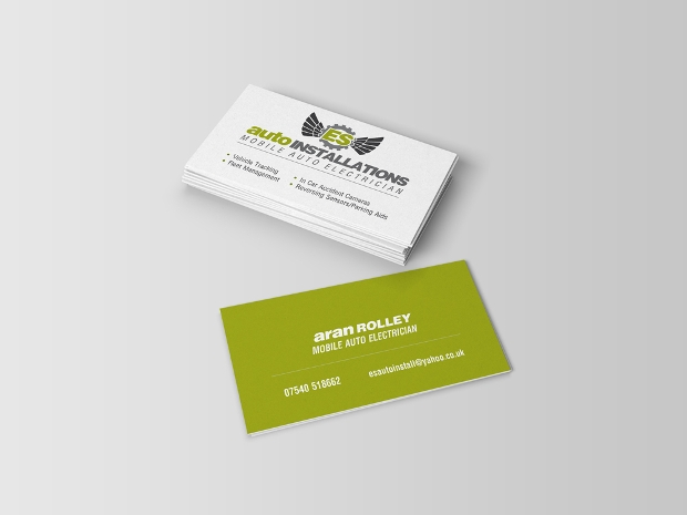 auto electrician business card