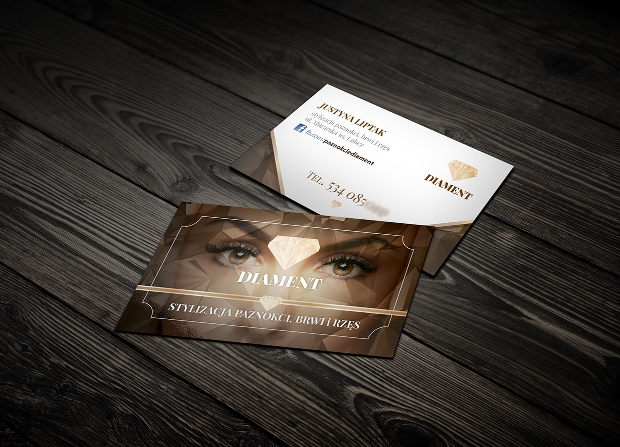 beauty salon business card design