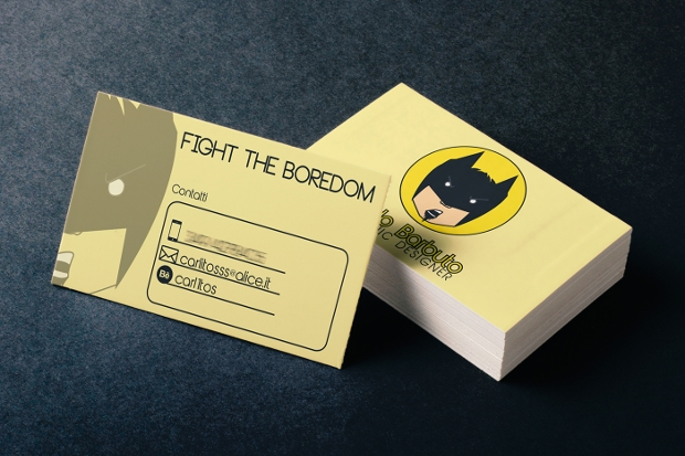 funny Personal business card design