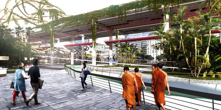 a total public space