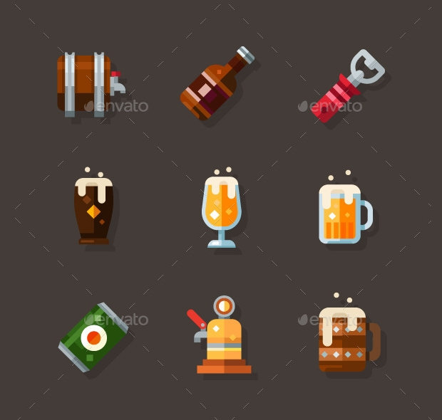 Beer Icon Set