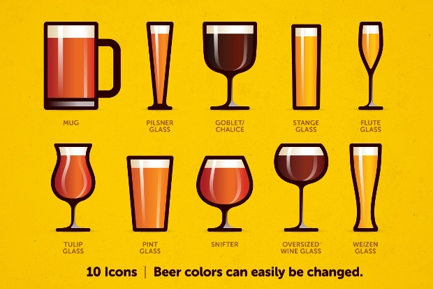 Beer Glass PNG Icon
