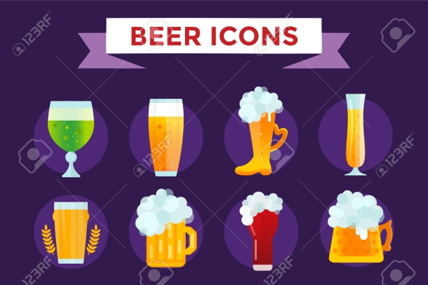 Beer and Beer Bottle Icons