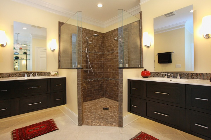 Shower Half Glass Design