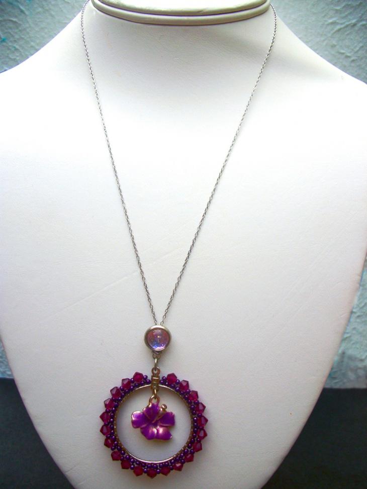 Simple Beaded Pendant