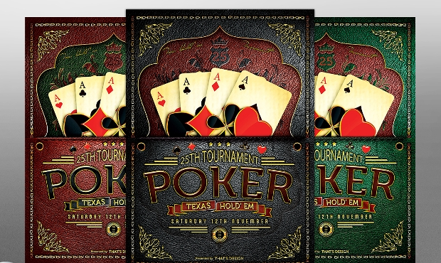 Casino and Poker Flyer Template