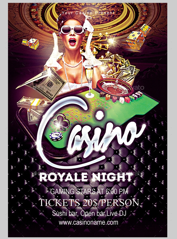 casino flyer bundle