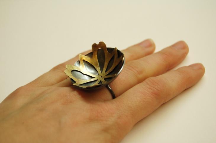 Vintage Snowflake Ring