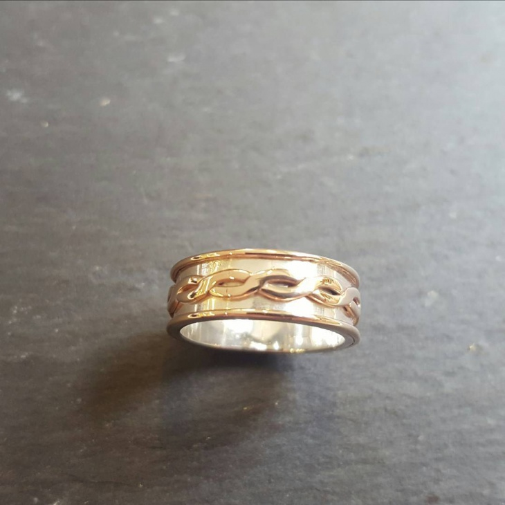 Handmade Wedding Band Design